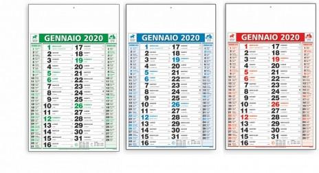 Calendario Trimestrali 2020.Olandese Muro Grande Trimestrale Calendario 2020