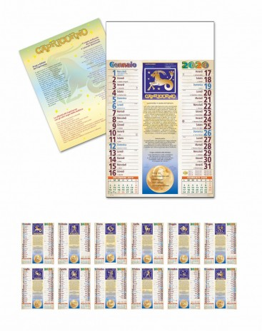Calendario Oroscopo.Astrologia Segni Zodiacali Foto Oroscopo Calendario 2020