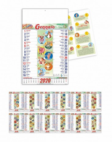 Calendario Mussolini 2020.Calendario Lotto 2020 Calendario 2020