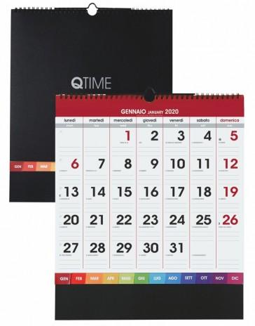 Calendario Parete.Calendario Parete Misura Medio Stampato Logo Azienda Economico