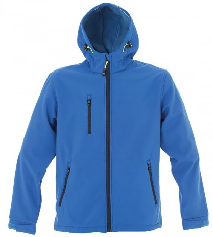 Giacca softshell due strati impermeabile